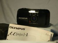 '                    MJU 1 CASED -MINT- ' Olympus MJU I Quality Compact Camera Cased -MINT- £39.99